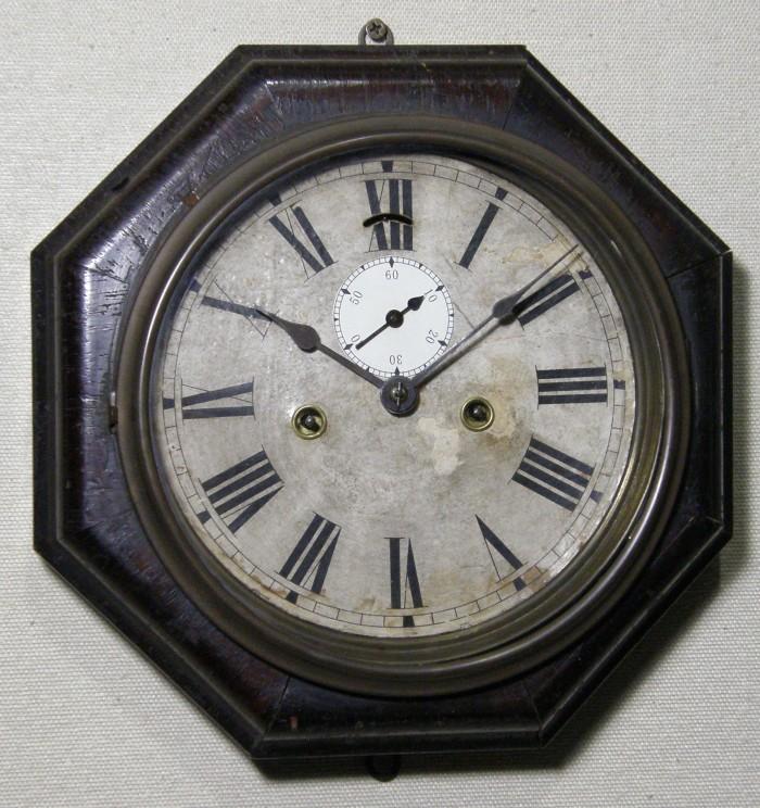 画像1: ANSONIA(米アンソニア)/8インチ大型レバークロック(舟時計)/動作品