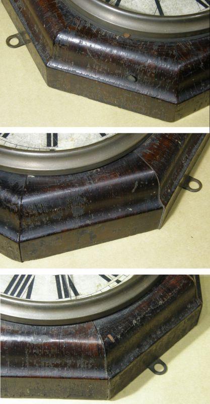 画像3: ANSONIA(米アンソニア)/8インチ大型レバークロック(舟時計)/動作品