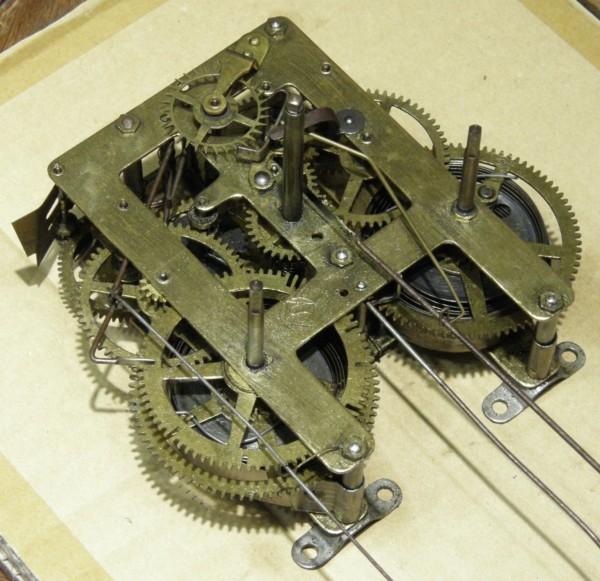 画像4: 精工舎/12インチ大木地頭丸掛け時計/完動品