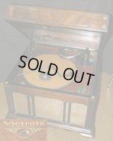 VICTOR(ビクター)/Victrola(ビクトローラ)VV1-90卓上蓄音機/完動品