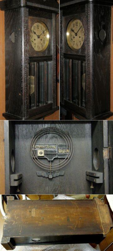 画像2: 独)KIENZLE(キンツレ)/7インチスリゲル掛け時計/完動品