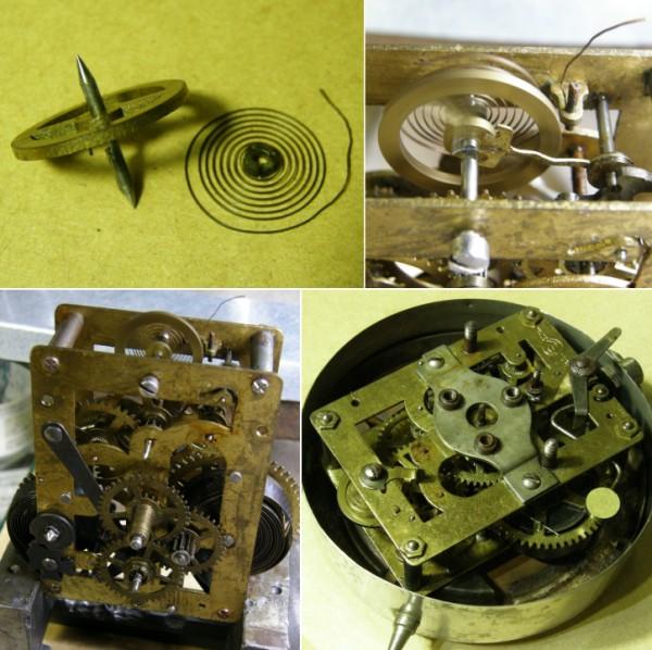 画像4: 精工舎/めっき筐体INTER MITTENT置き時計/動作品