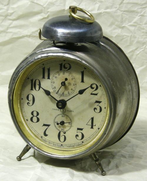 画像1: 精工舎/へそ形目覚まし時計/動作品