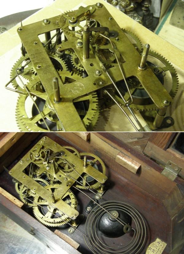 画像4: 精工舎/スリゲル四号小型座敷時計/動作品