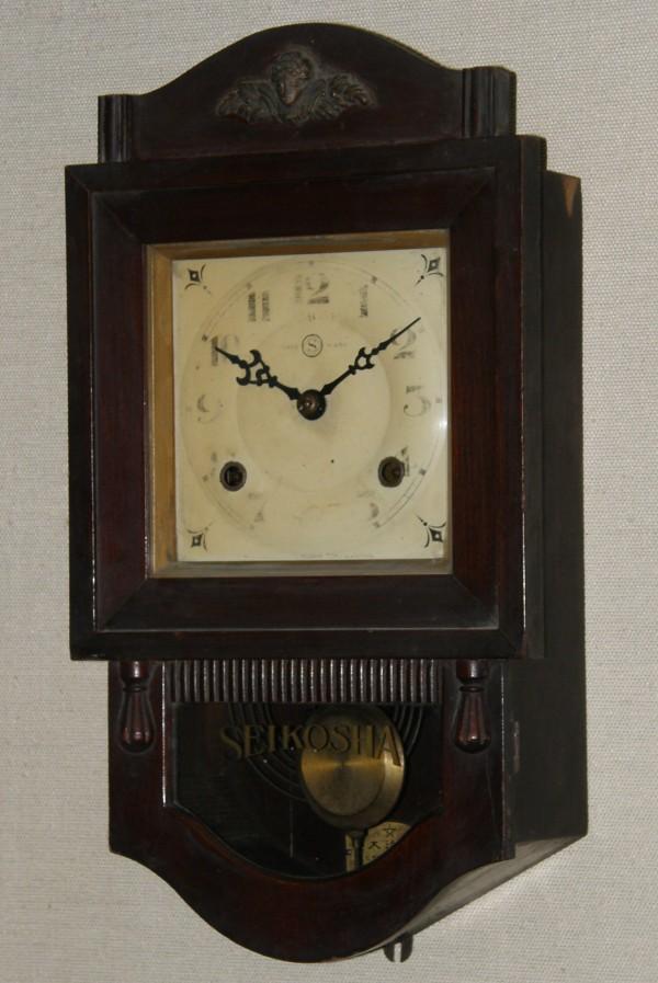 画像1: 精工舎/スリゲル四号小型座敷時計/動作品